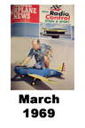 Model Airplane news cover for March of 1969