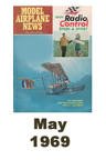 Model Airplane news cover for May of 1969