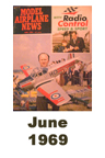 Model Airplane news cover for June of 1969
