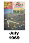 Model Airplane news cover for July of 1969