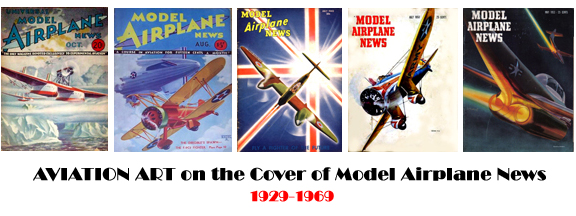 Art on the Cover of Model Airplane News