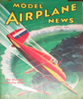 Model Airplane News Cover for April, 1936 by Jo Kotula Grumman XF4F