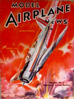 Model Airplane News Cover for April, 1940 by Jo Kotula Douglas 8A5 (Northrop A-17)