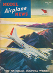 Model Airplane News Cover for April, 1942 by Jo Kotula Boeing B-17 Flying Fortress