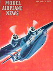 Model Airplane News Cover for April, 1944 by Jo Kotula Consolidated PBY Catalina