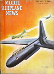 Model Airplane News Cover for April, 1946 by Jo Kotula Cornelius XFG-1 Fuel Glider