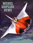 Model Airplane News Cover for April, 1953 by Jo Kotula SAAB 210 Draken
