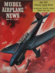Model Airplane News Cover for April, 1955 by Jo Kotula Junkers Ju-87 Stuka