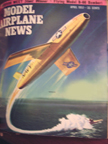 Model Airplane News Cover for April, 1957 by Jo Kotula Chance-Vought SSM-N-8 Regulus
