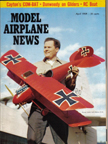 Model Airplane News Cover for April, 1959
