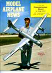 Model Airplane News Cover for April, 1960