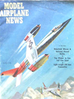Model Airplane News Cover for April, 1961 by Jo Kotula BELL D-188A /EWR VJ-101