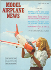 Model Airplane News Cover for April, 1962