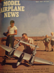 Model Airplane News Cover for April, 1964