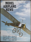 Model Airplane News Cover for April, 1965 by Jo Kotula Morane Saulnier Type G