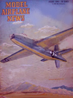 Model Airplane News Cover for August 1946 by Jo Kotula Douglas XB-42 Mixmaster