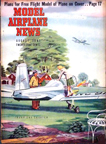 Model Airplane News Cover for August, 1947 by Jo Kotula Thorp Sky Skooter
