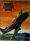 Model Airplane News Cover for August, 1948 by Jo Kotula Martin AM-1 Mauler