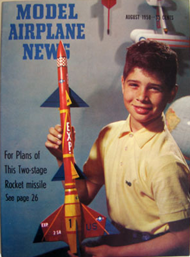 Model Airplane News Cover For August 1958