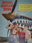 Model Airplane News Cover for August, 1959