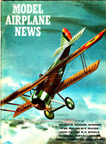 Model Airplane News Cover for August, 1961 by Jo Kotula Hanriot HD1 or 3C2 ?