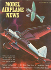 Model Airplane News Cover for August, 1962 by Jo Kotula Westland Lysander