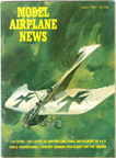 Model Airplane News Cover for August, 1964 by Jo Kotula Etrich-Rumpler Taube