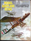Model Airplane News Cover for August, 1965 by Jo Kotula Blackburn R.T. 1 Kangoroo