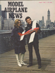 Model Airplane News Cover for August, 1967