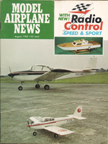 Model Airplane News Cover for August, 1968