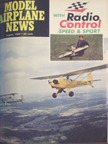 Model Airplane News Cover for August, 1969