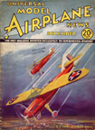 Model Airplane News Cover for December, 1934 by Jo Kotula Douglas O43 Observation