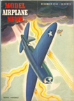 Model Airplane News  Cover for December 1942 by Jo  Kotula   Republic P-47 Thunderbolt