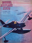 Model Airplane News Cover for December, 1946 by Jo Kotula Edo XOSE-1 Scout Floatplane