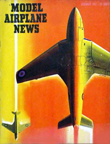 Model Airplane News Cover for December, 1951 by Jo Kotula Hawker P.1081