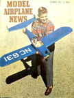 Model Airplane News Cover for December, 1952