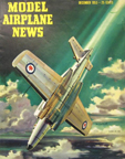 Model Airplane News Cover for December, 1953 by Jo Kotula AVRO CF-100 Canuck