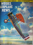 Model Airplane News Cover for December, 1955 by Jo Kotula Vought O2U Corsair