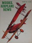 Model Airplane News Cover for December, 1956 by Jo Kotula Albatros D. V