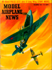 Model Airplane News Cover for December, 1957 by Jo Kotula Supermarine Spitfire