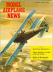 Model Airplane News Cover for December, 1960 by Jo Kotula Hannover Cl. III Hannoveroner