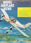 Model Airplane News Cover for December, 1961 by Jo Kotula Morane-Saulnier 880 Rallye