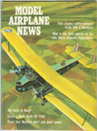Model Airplane News Cover for December, 1966 by Jo Kotula Keystone LB-6 Panther