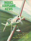Model Airplane News Cover for December, 1967 by Jo Kotula Stits Playboy