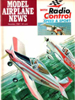 Model Airplane News Cover for December, 1968 by Jo Kotula Thorp T-18 Tiger