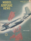 Model Airplane News Cover for February, 1945 by Jo Kotula Douglas A-26 Invader