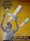Model Airplane News Cover for February, 1949