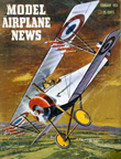 Model Airplane News Cover for February, 1952 by Jo Kotula Nieuport Model 28