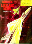 Model Airplane News Cover for February, 1955 by Jo Kotula AVRO Vulcan
