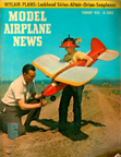 Model Airplane News Cover for February, 1956